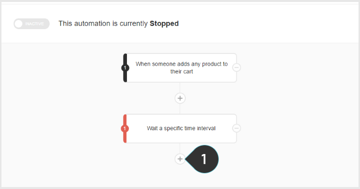 Checking if someone purchased Step 1 : Click on the + button