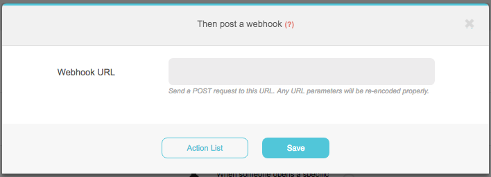 How can I use an automation to send a Webhook? – Moosend